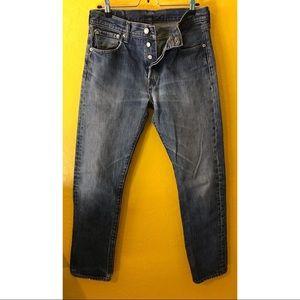 Levi's 501s size 30x32 blue jeans